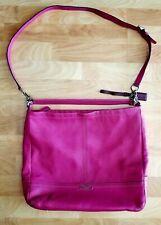 Coach Park Leather Hobo handbag F23293 Magenta