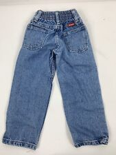 Toddler Boy Wrangler Jeans SZ 4 Slim Western Cowboy Style Vintage Wash Denim 80s