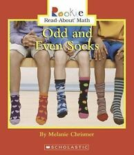 Odd and Even Socks (Rookie Read-About Math)-ExLibrary