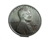 United States-USA/America (LINCOLN) 1 Cent. 1914 D