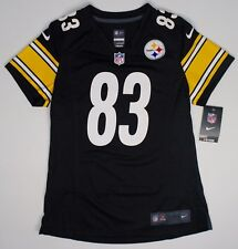 Nike Women s Home Game Jersey Pittsburgh Steelers Heath Miller  83 93efb25f8
