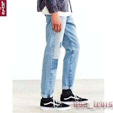NEW Levi's 501 CT Men's Jeans Old Spitalfields Tapered Blue Patches 18173-0023