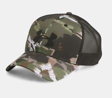 Under Armour UA Camo Mesh 2.0 Cap Ridge Reaper Forest Hunting Hat #1300473 OSFA