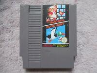 Jeux Console Nintendo Nes Super Mario Bros/Duck Hunt (PAL/FR)