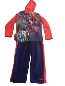 Spiderman sweatpants hoodie sweatshirt 2 piece set Marvel THe Avengers heroes