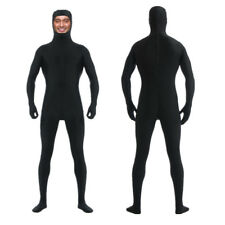 2018 Zentai Suit Men's Spandex Lycra Halloween Full Body Open Face Costume