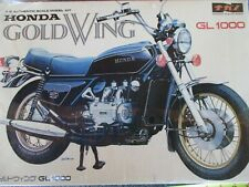 Vintage HONDA GL1000 GOLD WING 1/8  PLASTIC motorcycle MODEL KIT WRAPPED KIT