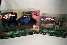 GI Joe Valor vs. Venom Vehicle Lot- Cobra H.I.S.S. Neutralizer Backblast Viper