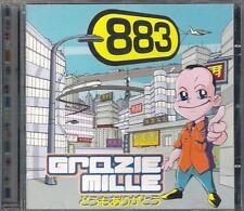 """883 - RARO CD 1 STAMPA CON OCCHIALINI """" GRAZIE MILLE """""""