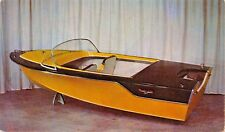 REINELL FOR 1958~16 FOOT RUNABOUT DELUXE ADVERTISING POSTCARD