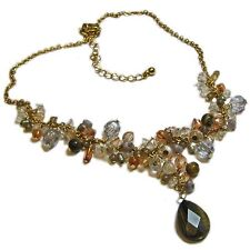 Avon Tiger's Eye Cluster Bead Choker--Priced Reduced!