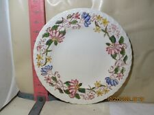 VERNON KILNS DOLORES PATTERN PLATE - HAS ONE CHIP TO RIM
