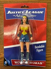 """Justice League WONDER WOMAN New Frontier BENDABLE FIGURE 5 1/2"""" NEW/SEALED"""