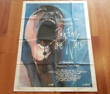 "ORIGINAL MOVIE POSTER ""PINK FLOYD THE WALL"" 1982 ITALIAN FOLDED ONE-PANEL"