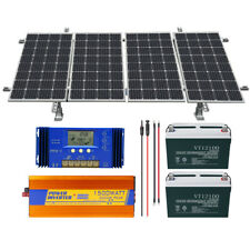 ECO 800W Watt 24 Volt Complete Solar Panel System For Home Garden Farm Ground