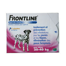 Frontline Spot-On L Chien (20-40 kg) - 6 pipettes
