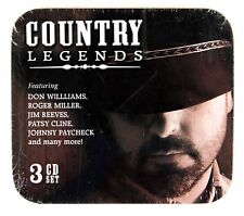 Country Legends - Various (3CD Set in a Tin Box) New & Sealed