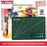 Ultimate Nipper Tools Set Pliers Cutting Mat Model Building For Gundam Modeler