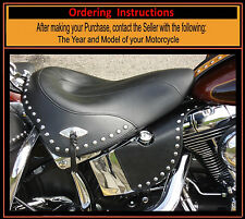 Harley Heritage Softail Chrome Studded Mid Frame Vtwin HEAT Deflectors USA Made