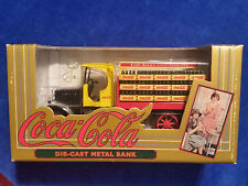 1994 Ertl Collector Series Kenworth Coca-Cola DieCast Metal Delivery Truck Bank