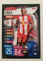 2019/20 Match Attax UEFA Champions Soccer Cards - Patson Daka Salzburg (Rookie)
