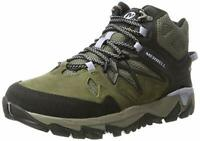 LADIES MERRELL ALL OUT BLAZE 2 LEATHER WATERPROOF HIKING TRAIL BOOTS SIZES 4-8