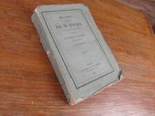 CHARLES NODIER / OEUVRES DIVERSES DE M. ROGER / T1 SEUL / FOURNIER 1835 rare