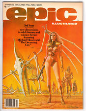 EPIC ILLUSTRATED MAGAZINE #3 8.0 FALL 1980 1ST DREADSTAR WHITE PAGES