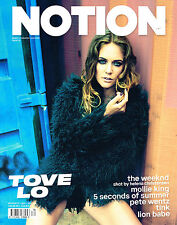 NOTION #70 TOVE LO Ellen Burton PEACHES Alexander Beck 5 SECONDS OF SUMMER @New@