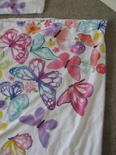 Pottery Barn Teen  Butterflies Twin Duvet Cover & Matching Sham