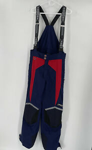 Spyder US SKI TEAM Bib Ski Pants Men's Large Full Side Zip Thinsulate