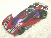 """2001 HOT WHEELS OPEN ROAD STER RED & PURPLE 1:64 DIECAST 3"""" CAR - NICE"""