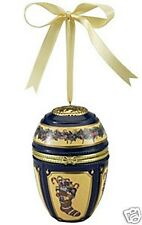 "Gold Label Collection Imperial Christmas Egg - Stocking 2.5"" D X 4"" H, Nib"