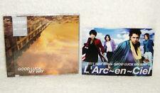 L'Arc~en~Ciel Good Luck My Way Taiwan Ltd CD +Postcard