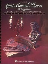 Great Classical Themes Lower Intermediate Sheet Music Piano Solo Songb 000240315