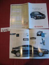 N°4184  / TOYOTA CELICA  catalogue 1800 ST - 2000 Gt   juin 1994