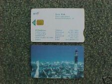 BT Visiting Card Phonecard - Steve Fish VIS 120 UNUSED