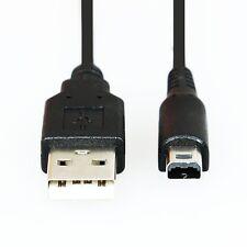 CABLE DE CARGA Y DATOS NDSL A USB 2.0 PARA NINTENDO 3DS/DSi/DSi XL - NEGRO