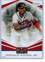 Ronald Acuna Jr. 2019 Topps Stadium Club Beam Team 5x7 #BT-18 /49 Braves