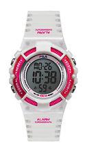 FILA ACTIVE 38-097-002 Uhr Armbanduhr Sport Uhren Jogging Fitness Unisex Weiß