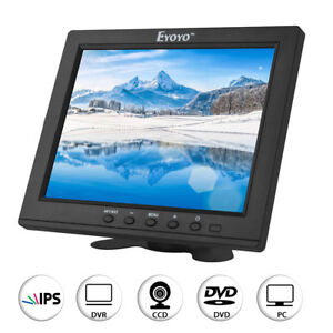 """Small 8"""" inch IPS Color Ultra HD Monitor HDMI Video Audio Display for VCD FPV #"""