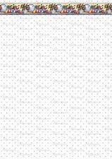*KÜCHE 026* - Puppenstubentapete - Tapete für Puppenhaus