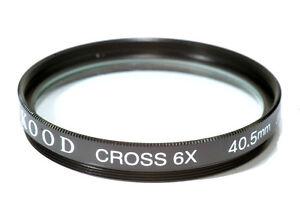 Hochwertig Kood Glas 40.5mm Starburst x6 Filter Hergestellt Ein Japan