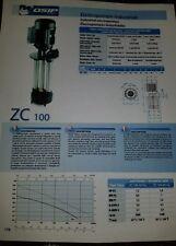 OSIP ZC100  Immersible Circulating,  Coolant Pump, Oil. Pump. 1.2 HP New