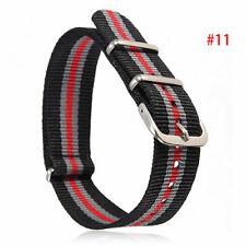 18-22mm Infantry Military Army Fabric Buckle Nylon Strap Wrist .US Band Wat U9J7