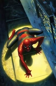 Alex Ross SIGNED Spectacular Spider-Man Giclee on Canvas Limited Edition of 50