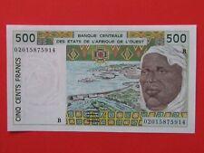 WEST AFRICA( 1991 MINT GEM ) 500 FRANCS BEAUTIFUL RARE BANK NOTE,MINT GEM UNC