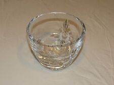 Marquis Waterford Crystal bowl candy dish 3 3/4 high heavy beautiful Poland RARE