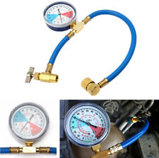 R134A Auto Car AC Air Conditioning Refrigerant Recharge Hose Pipe Gauge Adapter