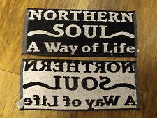 NORTHERN SOUL WAY OF LIFE BAR TOWEL-KEEP THE FAITH-WIGAN CASINO-MOD-SCOOTER